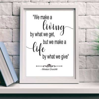 Winston Churchill Quotes - wall art quotes